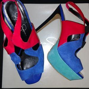 👠 Jessica Simpson Spike Heels Size 9/39